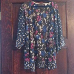 Anthropologie Guinevere kimono merino sweater, s
